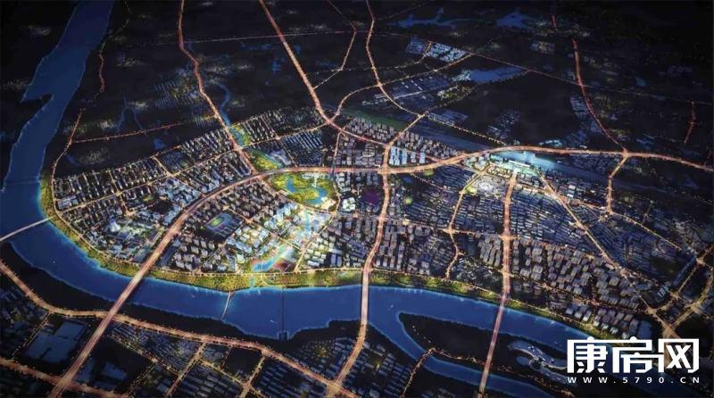 定了!金华西郊区块规划获批,效果图出炉,还有景观大桥?