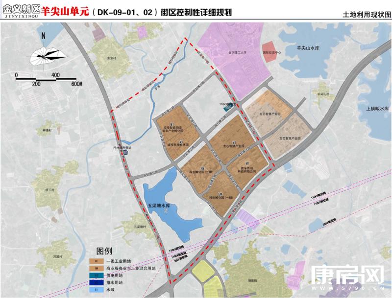 超3000亩!金义新区羊尖山单元新规划发布